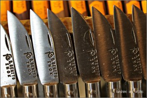 Famous ham-cutting knives from Don Benito, Extremadura