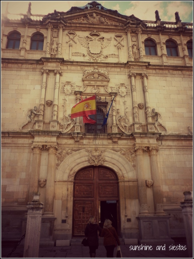 facade of university of alcala de henares