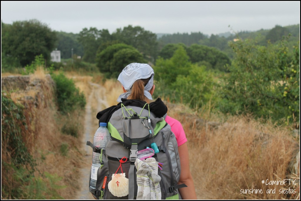 walking the Camino de Santiago in Spain
