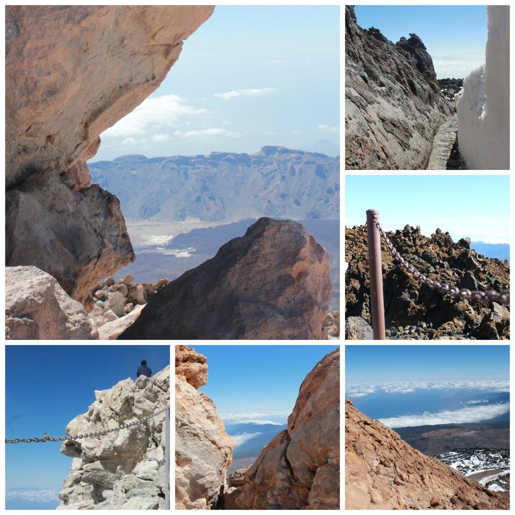 Teide collage