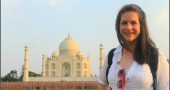 Learning by doing in India - Taj Mahal