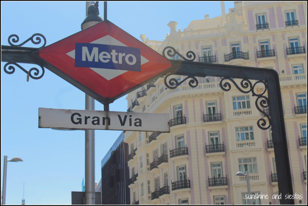 metro of Madrid