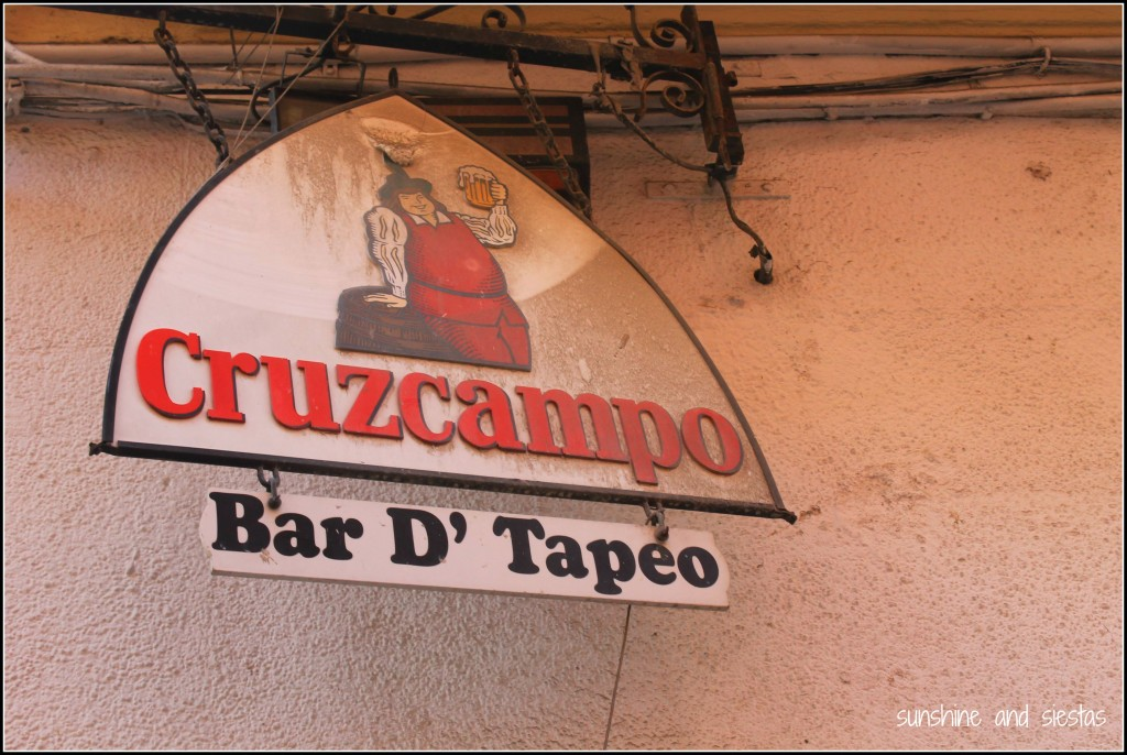 Cruzcampo Bar Sign