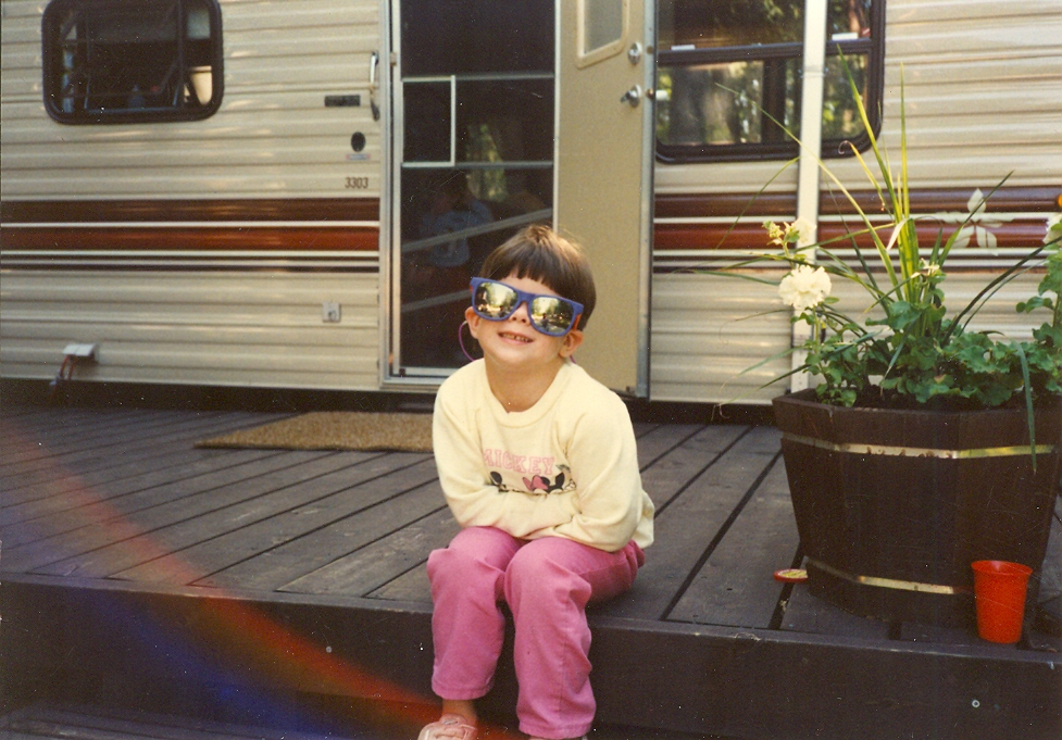 Vintage Travel: in Wisconsin at age 6