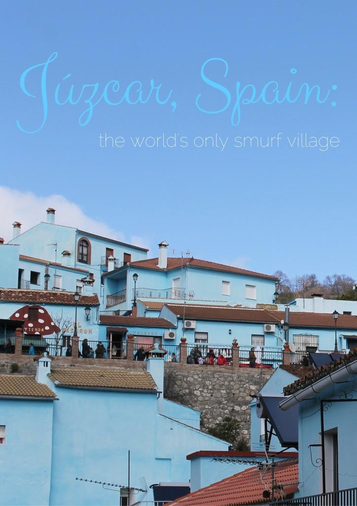 Júzcar, Spain-