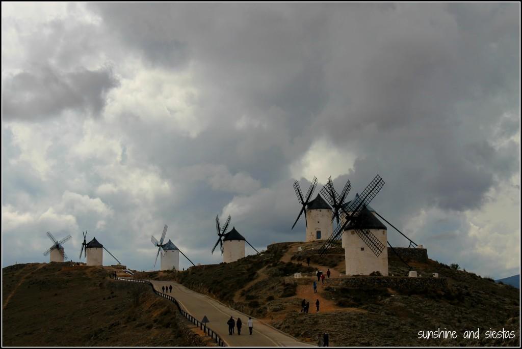 Panoramica molinos de Consuegra