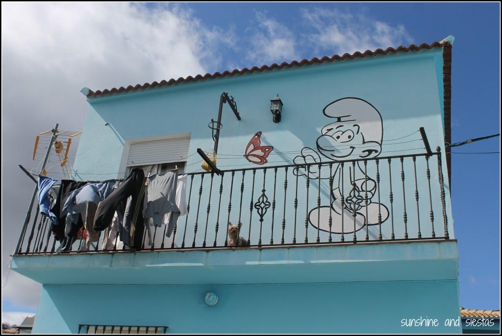 Smurfs in Spain