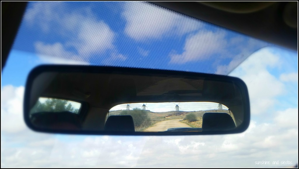 windmills in my rearview mirror