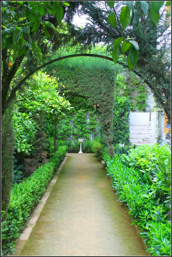 Gardens in Palacio las Dueñas