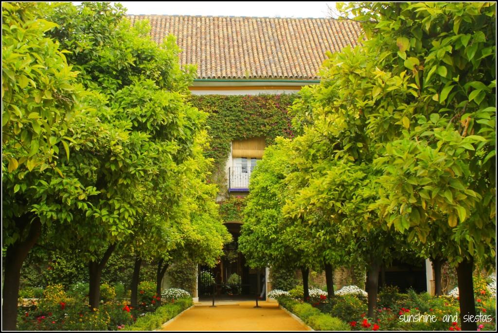 Grand Entranceto Palacio Las Duenas Sevilla