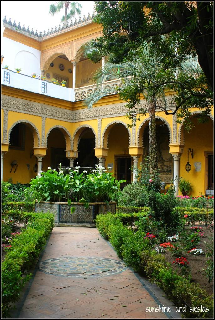 Interior of Palacio de las Dueñas