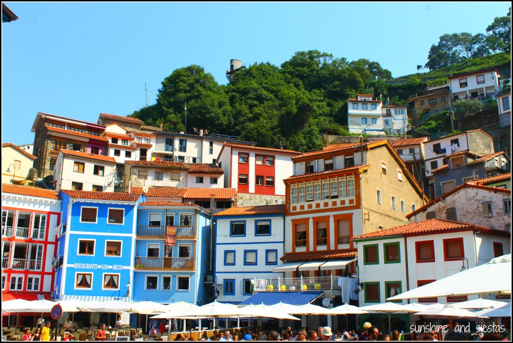 colorful Cudillero Asturias