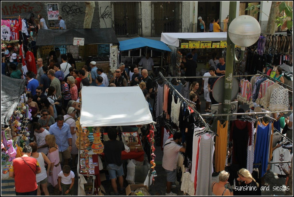 Madrid sunday markets sunshine and siestas an american - Cascorro madrid rastro ...
