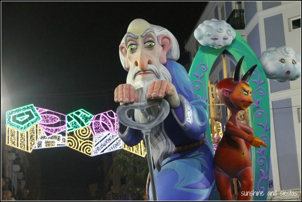 Festivals in Valencia Las Fallas