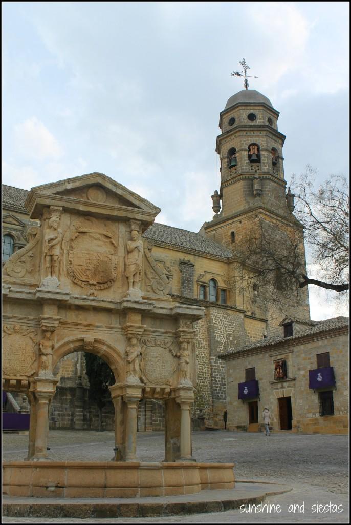 Plaza de Santa Maria Baeza