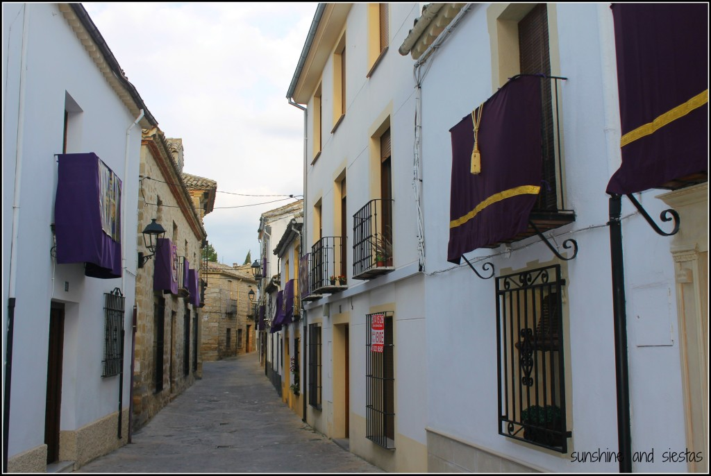 Streets in Baeza, Spain