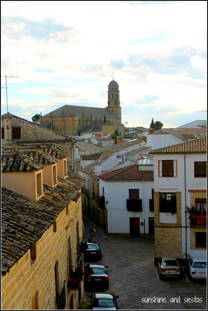view of Baeza from Ubeda
