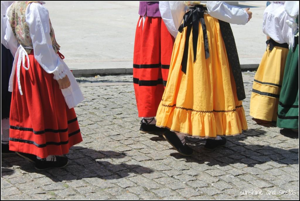 Regional dress in Asturias