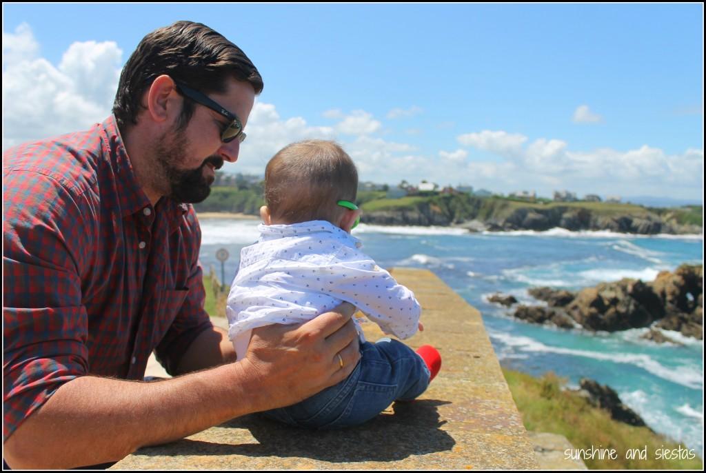 the beach at Tapia de Casariego