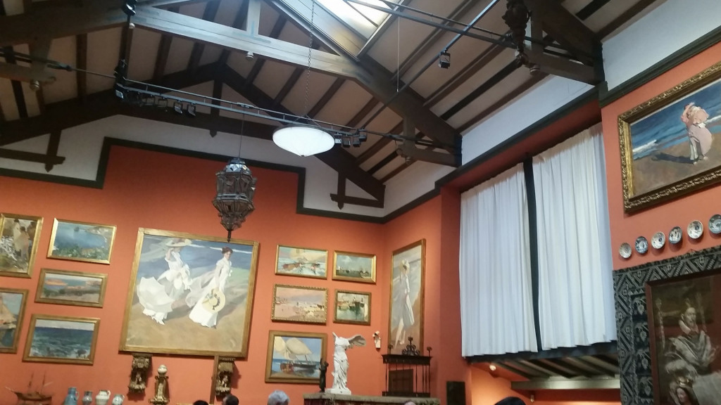 Joaquin Sorolla museum and studio Madrid