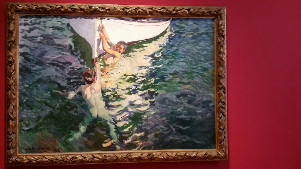 Sorolla painting on display in Madrid